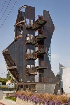 Samitaur Tower, (Culver City, CA), Eric Owen Moss Architects