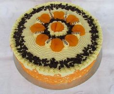 Mandarinen Buttercremetorte