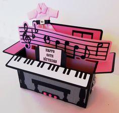 Piano Card in a Box