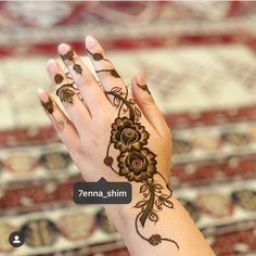Image may contain: one or more people Henna Tattoo Designs Arm, New Henna Designs, Floral Henna Designs, Mehndi Designs Book, Finger Henna Designs, Simple Arabic Mehndi Designs, Henna Tattoo Hand, Mehndi Designs For Beginners, Modern Mehndi Designs