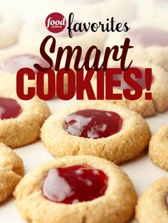 The sweetest part of the holiday season arrives early with our newest mini-cookbook, #SmartCookies! Download the Food Network Favorites app and subscribe today to get your all-inclusive cookie guide.