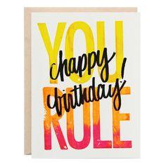 You Rule Greeting Card