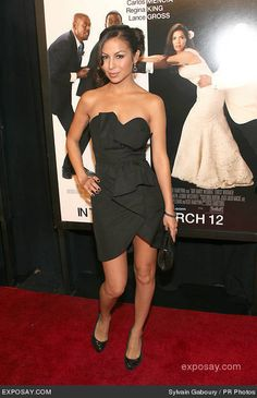 dress Anjelah Johnson, Wedding News, Strapless Dress, Shoulder Dress, My Style, Dresses, Fashion, Strapless Gown, Vestidos