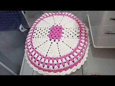 Bathroom Crafts, Bathroom Sets, Crochet Bra, Crochet Hats, Crochet Squares, Outdoor Blanket, Make It Yourself, Pillows, Knitting