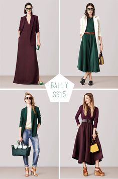 Bally Ss15 love these colors