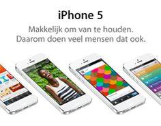 iPhone 5. Makkelijk om van te houden. Daarom doen veel mensen dat ook.
