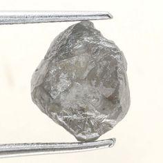 2.07 ct Natural loose Diamond Rough Natural Shape Grayish Color