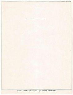 Saul Bass | letterhead