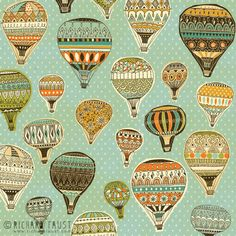 ©Richard Faust - 'Hot Air Balloon Pattern' www.richardfaust.com