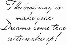 The best way...