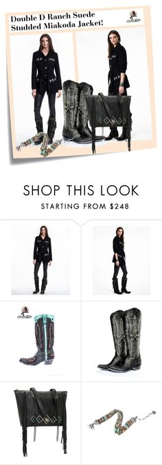 """""""SHOP - Cowgirl Kim Unique Western Chic"""" by cowgirlkim ❤ liked on Polyvore featuring Post-It and Old Gringo"""
