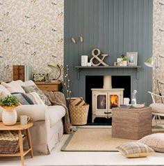 14 Creative Ideas for Decorating a Non-Working Fireplace