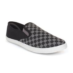 Payless Shoes: Checkers Slip on Canvas - $9.99