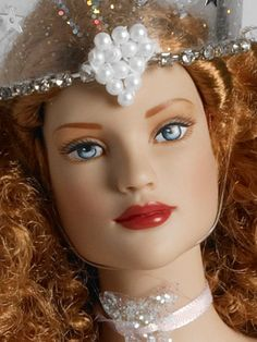"#Pin2Win $249.99 - Wizard of Oz Glinda the Good Witch - Tonner Doll Company Dressed Doll  16"" Tyler bending wrist body  Tyler skin tone  Blue painted eyes  Strawberry rooted saran hair  Pink and silver gown with star sequins, glitter, and a rhinestone brooch  Pink petticoat  Nude pantyhose with attached panties  Pink glitter shoes  Pink ribbon necklace with glitter charm  Resin crown with silver sequins and faux pearls  Silver wand with rhinestones  LE 500"