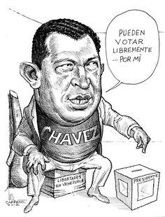Chavezuela. El Cartón de Carreño.