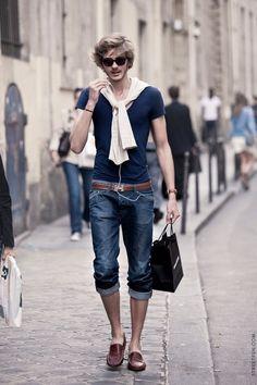street style, high effortless