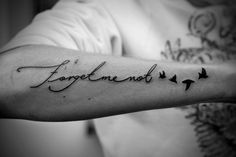 Umm...this is EXACTLY the tattoo I want on my foot...quote, birds, everything.