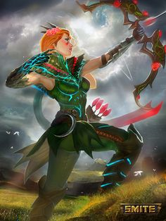 Briar Queen Artemis - Smite, jaggu dada on ArtStation at https://www.artstation.com/artwork/A2QYo?utm_campaign=digest&utm_medium=email&utm_source=email_digest_mailer