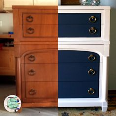 BEFORE & AFTER FURNITURE MAKEOVERS ...