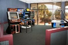 If you're looking for something fun to do indoors, the arcade at Beach Cove Resort is a great option.