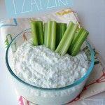 Fresh Homemade Tzatziki- dress up chicken, veggies, a spoon!