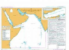 BA Chart Q6099: Maritime Security Chart - Red Sea, Gulf of Aden and Arabian Sea.