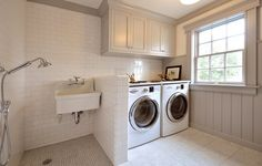 Laundry Room with washing station - Anthony James Builders