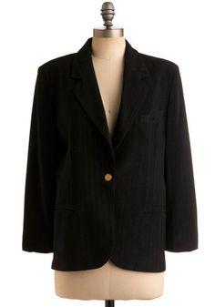 Vintage All the Answers Blazer, #ModCloth