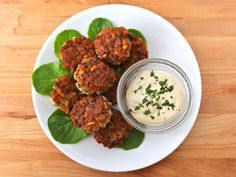 Israel-Style Fish Cakes ~~~~~~ Hanukkah Holiday Recipe Roundup - Delicious Ideas for Your Holiday Table from ToriAvey.com