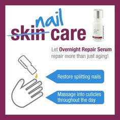 Your love of Overnight Repair Serum just got better. #dermalogica #agesmart #nails