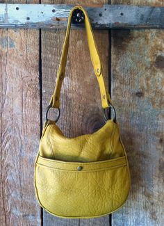 Ronnie handbag - pleated leather by littlewingsdesigns.