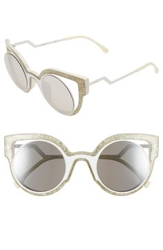 'Orchidea' 49mm Cat Eye Sunglasses
