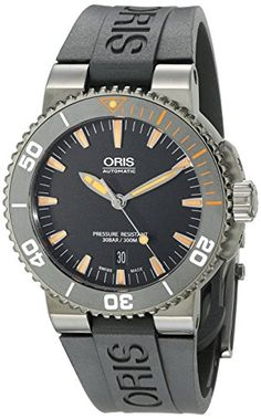 676b5c8192a Men s Wrist Watches - Oris Mens 73376534259RS1 Swiss Automatic Black Watch      Want additional