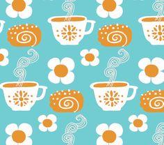 Pikkukiisken kotona: pattern designing Textures Patterns, Print Patterns, Coffee Love, Optical Illusions, Pattern Paper, Textile Design, Just In Case, Tea Party, Pattern Design