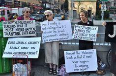 Brave peaceful protestors in Manhattan