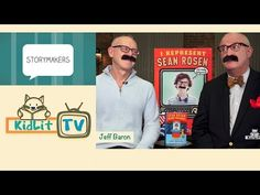 KidLit TV | StoryMakers with Jeff Baron - How can a 13-year-old boy get an agent? By inventing one! Sean Rosen is just a kid, but he conjures up an agent and soon has two Hollywood studios fighting over his movie. Watch this entertaining interview with Jeff Baron, the author of Sean Rosen Is Not for Sale and I Represent Sean Rosen.