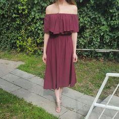 Elbisemiz 75 TL www.agathree.com adresinden yada DM den sipariş verebilirsiniz  #agathree #butik #ankara #elbise #bordo #şıkelbise #romantikelbise #taksit #kredikartı #indirim #like4like