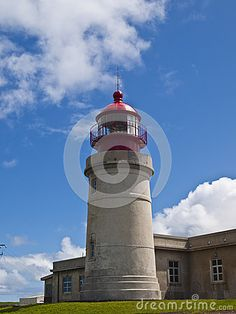 Lighthouse in Flores island, Azores