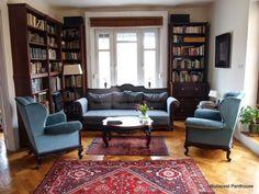 retro style, amazing living room