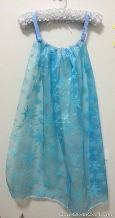 Sew a Quick Elsa Cape