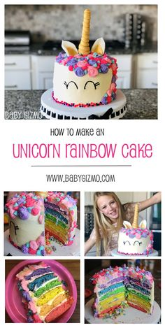 diy unicorn cake easy & diy unicorn cake - diy unicorn cake easy - diy unicorn cake topper - diy unicorn cake how to make - diy unicorn cake pops - diy unicorn cake topper free printable - diy unicorn cake birthdays - diy unicorn cake videos Easy Unicorn Cake, Unicorn Cake Pops, Rainbow Unicorn, Unicorn Cakes, How To Make A Unicorn Cake, Grands Parents, Angel Cake, Salty Cake, Diy Cake
