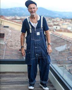 Denim Dungarees, Men's Denim, Denim Style, Japan Men Fashion, Mens Onesie, Carhartt Overalls, Future Clothes, Japanese Denim, Vintage Denim