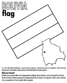 Colombian Flag Coloring Page Beautiful Bolivia Coloring Page South American Flags, American Flag Colors, Learn Spanish Online, How To Speak Spanish, American Flag Coloring Page, Colombian Flag, Spanish Basics, Spanish Lessons, Flag Coloring Pages