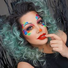 Clown Inspired Look                                                                                                                                                                                 More