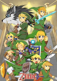 Been playing Ocarina of Time and Skyward Sword lately! The Legend of Link The Legend Of Zelda, Legend Of Zelda Breath, Ben Drowned, Link Lobo, Zelda Drawing, Link Art, Retro Videos, Nerd Love, Wind Waker
