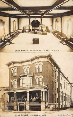 Photo of the old & huge New York Elks Lodge #1 located on ...