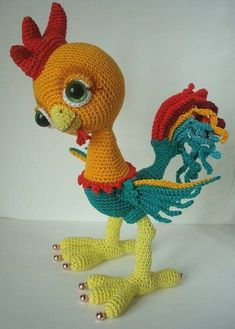 Irresistible Crochet a Doll Ideas. Radiant Crochet a Doll Ideas. Crochet Parrot, Crochet Birds, Crochet Teddy, Easter Crochet, Crochet Animals, Crochet Crafts, Crochet Dolls, Crochet Baby, Crochet Projects