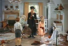 the kids room from mary poppins. basically, EVERYTHING from mary poppins. Mary Poppins 1964, Mary Poppins Movie, My Fair Lady, Matthew Garber, Jane And Michael, Julie Andrews, Walt Disney Pictures, Disney Movies, Halloween