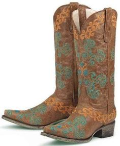 Lane Boots Womens Old Mexico Cowboy Boots - Brown - product summary - Bing Shopping