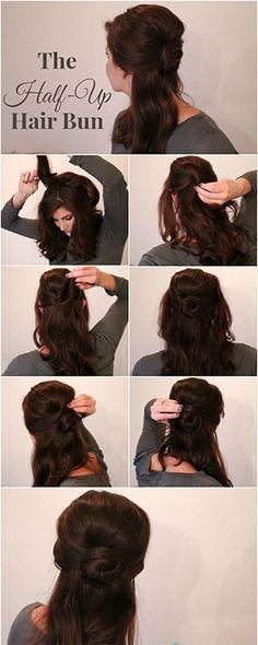 belle-beauty-and-the-beast-bun-hair-hacks-how-to.jpg (300×750)